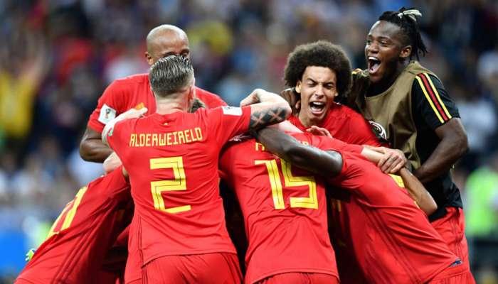 ब्राझीलला २-१ ने नमवून बेल्जियमची उपांत्य फेरीत धडक