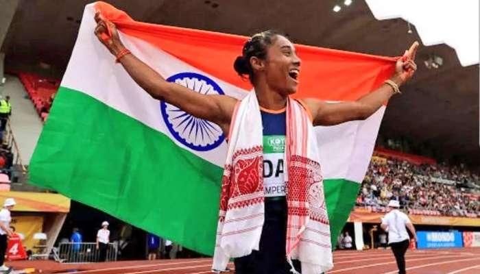 VIDEO : हिमा दासला जागतिक अॅथलेटिकस्पर्धेत सुवर्ण पदक