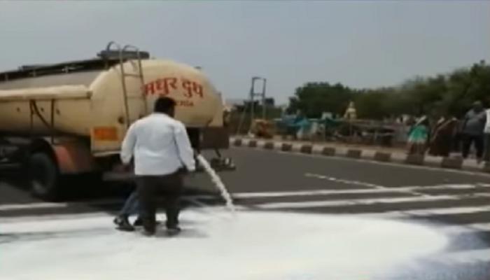 दूध आंदोलनात सहभागी होऊ नका; किसान सभेच्या कार्यकर्त्यांना पोलिसांची नोटीस