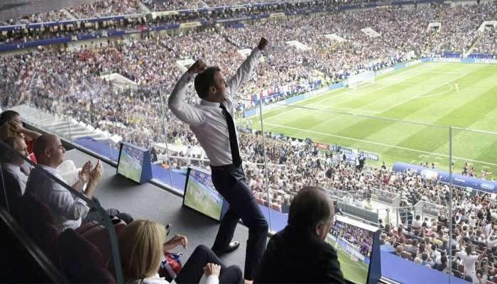 फिफा वर्ल्डकप: फ्रान्स आणि क्रोएशियाच्या राष्ट्राध्यक्षांनी जिंकलं जगाचं मन