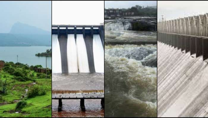 पाऊसपाणी: राज्यातील धरणांचे अपडेट्स...
