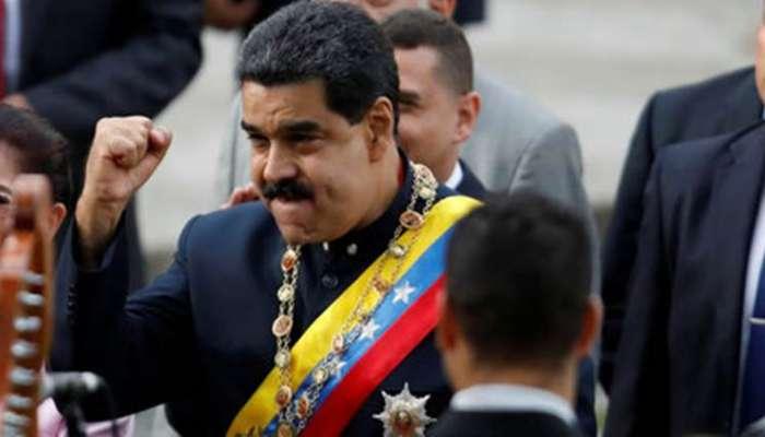 VIDEO:व्हेनेझुएलाच्या राष्ट्राध्यक्षांवर स्फोटकांनी भरलेल्या ड्रोनने हल्ला