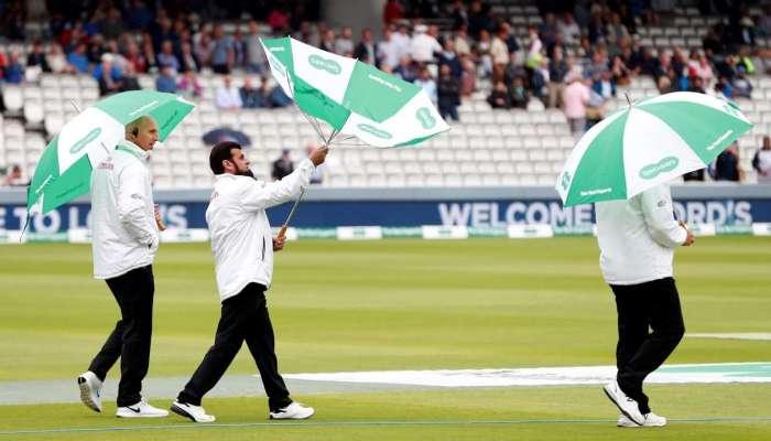 भारत-इंग्लंड दुसरी टेस्ट : पावसामुळे पहिल्या दिवसाचा खेळ रद्द