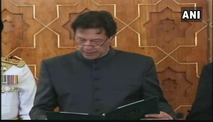 इम्रान खान पाकिस्तानचे नवे पंतप्रधान, शपथविधी संपन्न