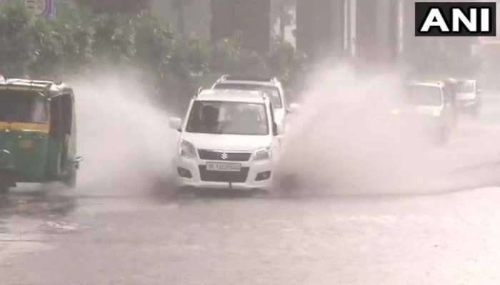 दिल्ली - उत्तराखंडमध्ये मुसळधार पाऊस, जनजीवन विस्कळीत