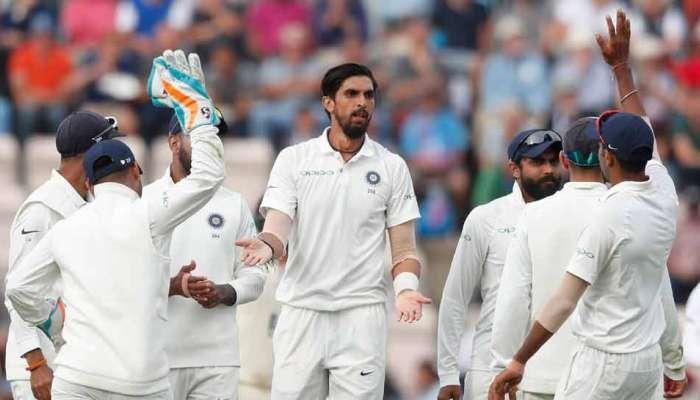 चौथी टेस्ट जिंकण्यासाठी भारतापुढे २४५ रनचं आव्हान