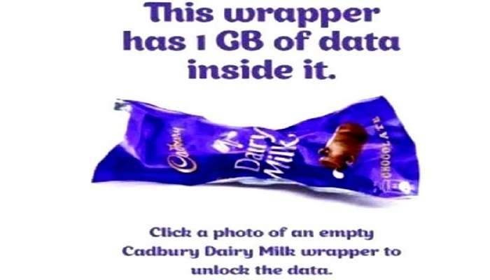 जिओ ऑफर : 5 रुपयांचे चॉकलेट खा आणि मिळवा 1 जीबी डेटा