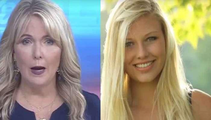 व्हिडिओ : न्यूज अँकरनं लाईव्ह टीव्हीवर दिलं आपल्याच मुलीच्या मृत्यूचं वृत्त