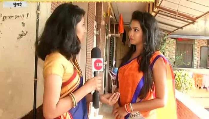 Mumbai Sukhkarta Celebrity Ganesha Gauri Sohala With Meera Joshi