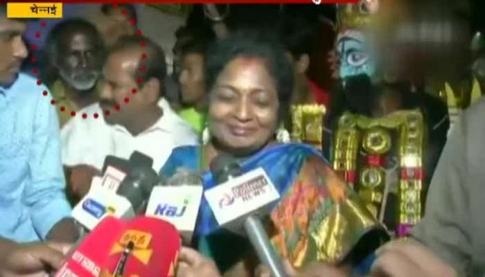 Auto Driver Roughed Up By BJP Cadres For Questioning TN Chief Tamilisai About Fuel Price Hike
