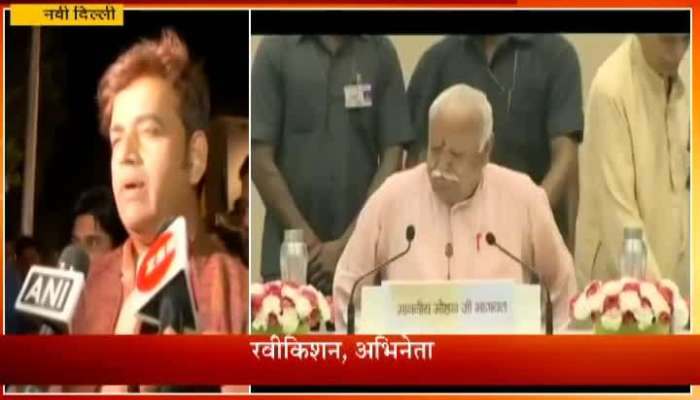 Celebrities at RSS Chief Mohan Bhagwat Event