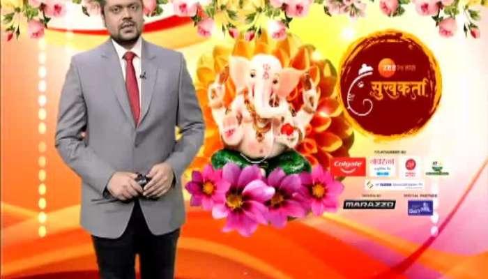 Delhi Sahyadri Society Showcase Shayadri Decoration For Ganeshotsav