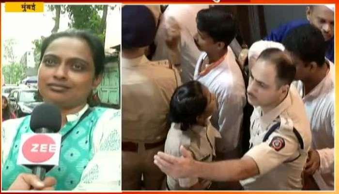 Mumbai Devotiee Negative Reaction On Lalbaug Raja
