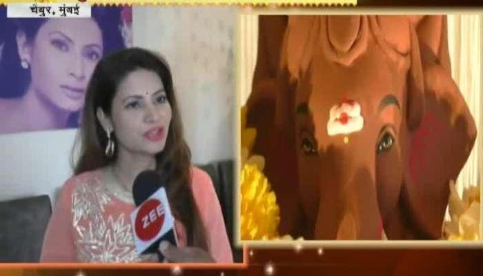 Sukhkarta Celebrity Ganesha Megha Dhade 20 September 2018