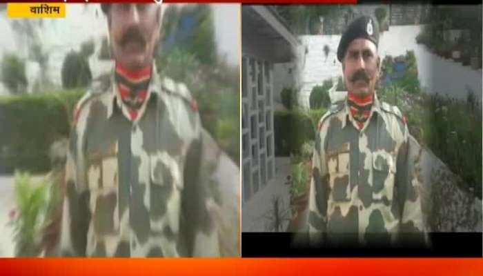 Washim BSF Jawan Sunil Dhupe Funeral Tomorrow