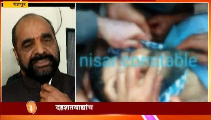 handrapur Hansraj Ahir On kashmiri Getting Killed By Terrorist