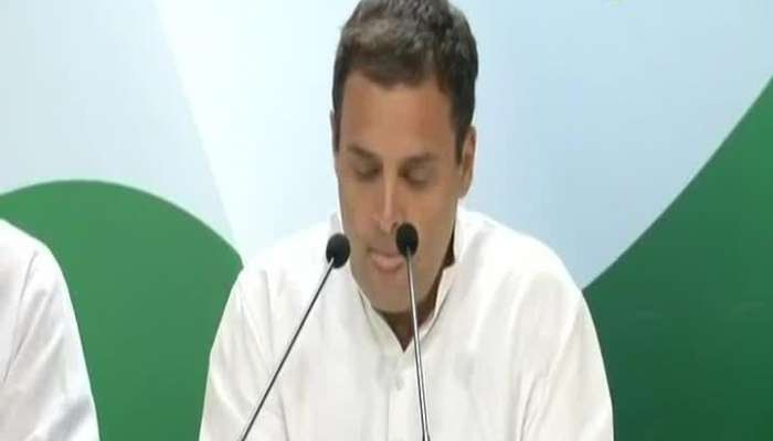 New Delhi Rahul Gandhi Press Conference After Francois Hollande Revelation On Rafale Deal