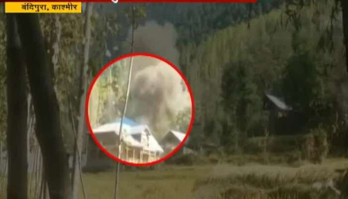 Kashmir,Bandipura Indian Army Killed 2 Terrorist