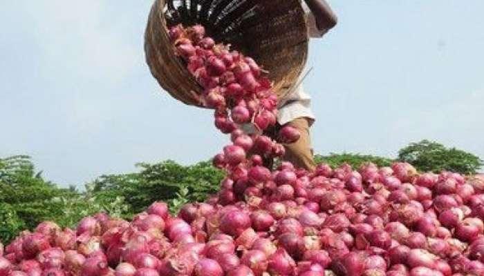 कांद्याचा दर 1 रुपया प्रति किलो, शेतकऱ्याच्या डोळ्यात पाणी