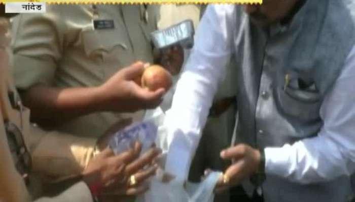 Nanded Rashtriya banjara Parishad Provided Food To Police At Ganpati