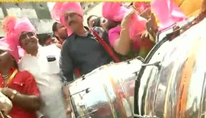 Nashik Guardian Minister Girish Mahajan Enjoyed With Dance