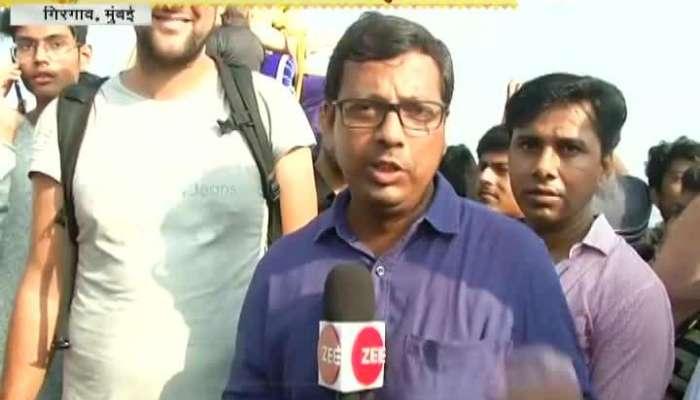 Mumbai,Girgaon Foreigner Tourist Also Enjoy In Ganpati Immersion 2018