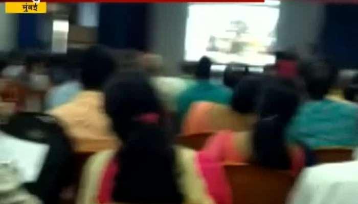 Mumbai Mahapalika Gave Lesson In Gujrati