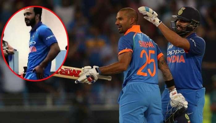 VIDEO : पाकिस्तानला हरवल्यानंतर Team India सोबत केदार जाधवचा Dance