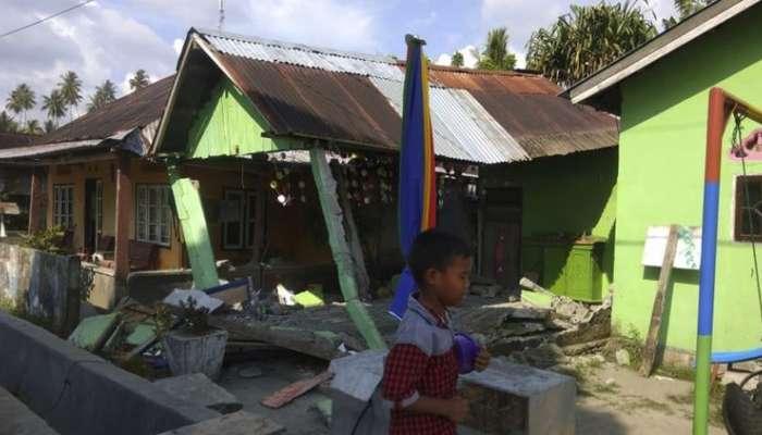 या देशाला भूकंपानंतर त्सुनामीचा तडाखा; घरे व इमारती जमीनदोस्त