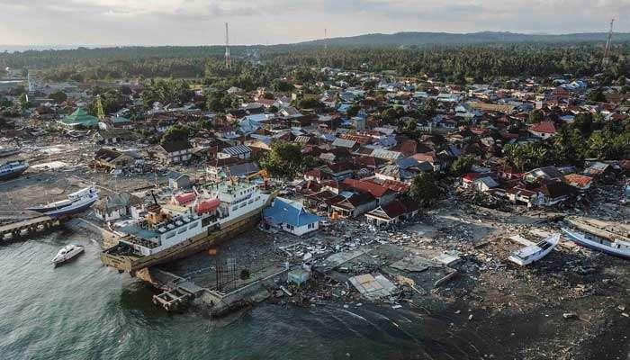इंडोनेशियाला पुन्हा भूकंपाचा धक्का, भूकंपात ३४ जणांचा मृत्यू तर ५२ जण बेपत्ता