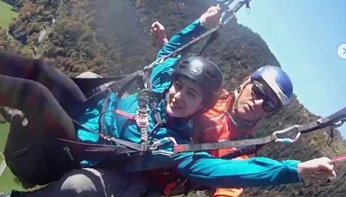 सारा अली खान स्वित्झरलँडमध्ये अॅडवेंचर करताना 'या' व्यक्तीला करतेय मिस