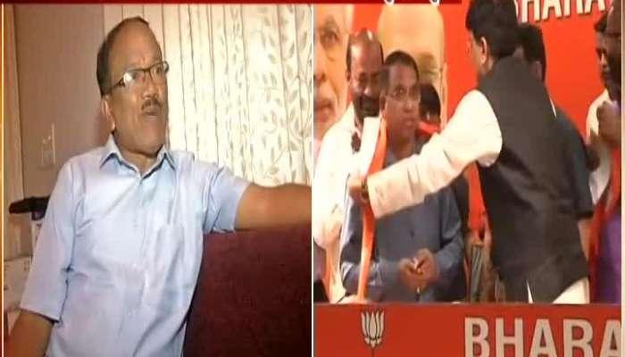 Goa Former CM Laxmikant Parsekar And BJP Leader Vinay Tendulkar On Congress Leaders Joining BJP