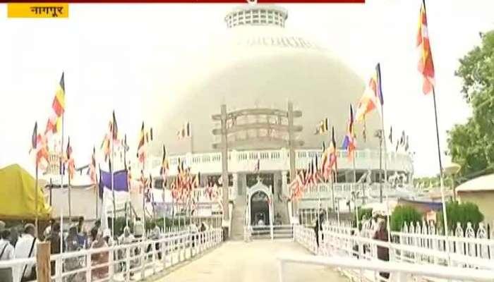 Nagpur Prepartion Of 62th Dhamma Chakra Pravartan Din