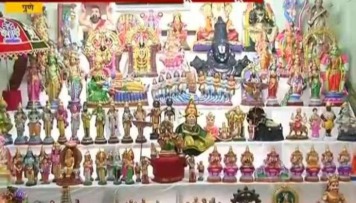 Pune Rangrajan Family Celebrate Bomai Golu Navratra