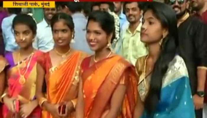 Dadar Shivaji Park Student Dressed Up To Meet Friends On Dusshera