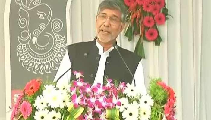 Nagpur Noble Peace Prize Winner Kailash Satyarthi At RSS Vijyadashmi Utsav