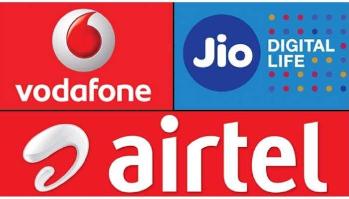 'जिओ', 'वोडाफोन' आणि 'एअरटेल'चे सर्वात स्वस्त नवे प्लान