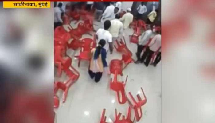 Mumbai NCP Leader Amit Tiwari And Kailash Agavane Clash Atrocity Case Filed