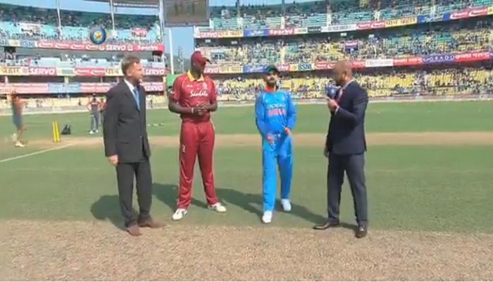 भारत-इंडिज पहिली वनडे: भारताचा टॉस जिंकत गोलंदाजीचा निर्णय