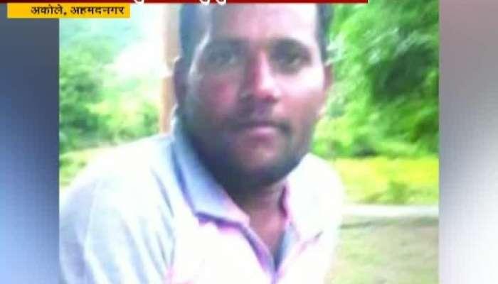 Ahmednagar,Akole Farmer Pandurang Shelke Attempt Suicide