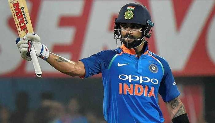 विराटचं वनडेत आणखी एक शतक, भारताची मोठ्या धावसंख्येकडे वाटचाल