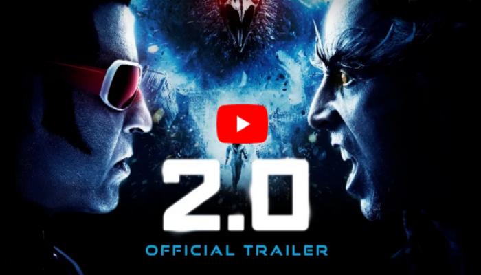 2.0 Trailer: रजनीकांत, खिलाडी कुमार आमने-सामने, चाहत्यांना दिला 'हा' इशारा