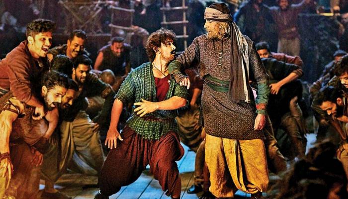 आमिरचा 'ठग्स ऑफ हिंदुस्तान' एकाच वेळी ७००० स्क्रीन्सवर प्रदर्शित