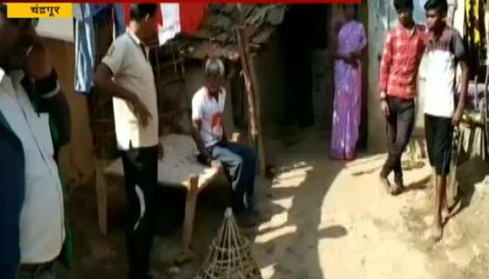 Chandrapur 3 Villegers Injured In Leopord Attack