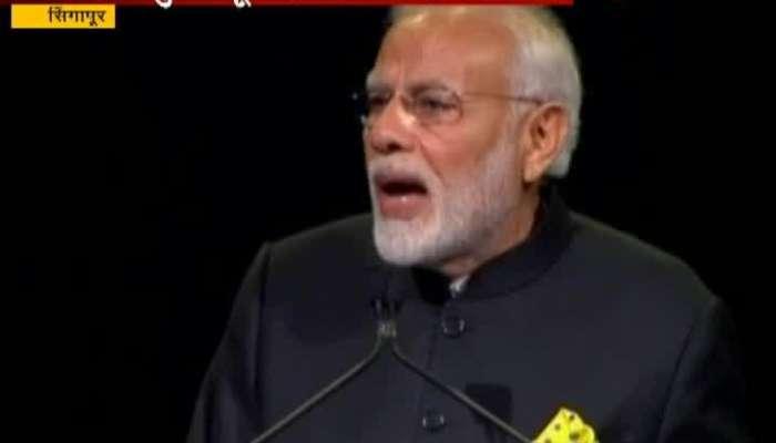 PM Modi_s Keynote Address At Singapore Fintech Festival