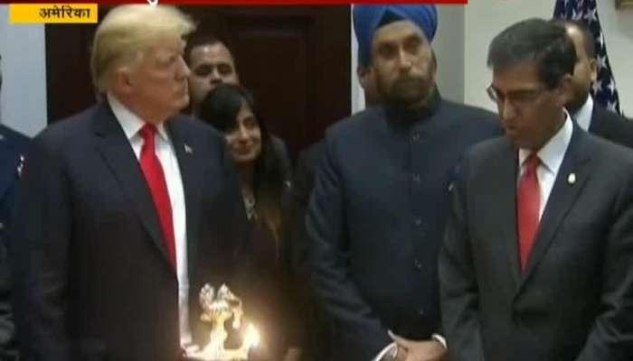 India Best Trade Negotiators Trump At White House Diwali Celebrations