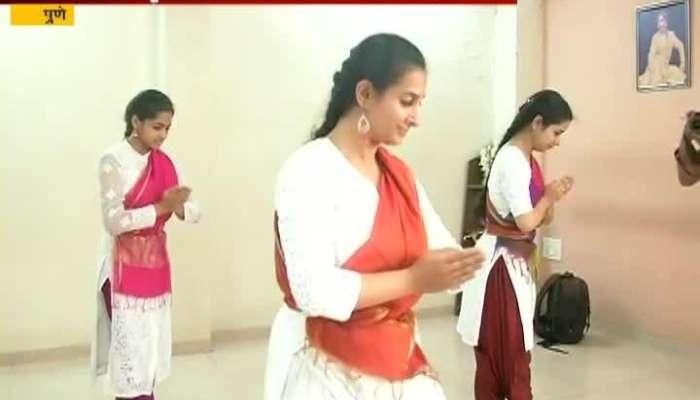 Pune In Memory Of Rohini Bhate Kattak Dancer Paly Ghungroo Naad