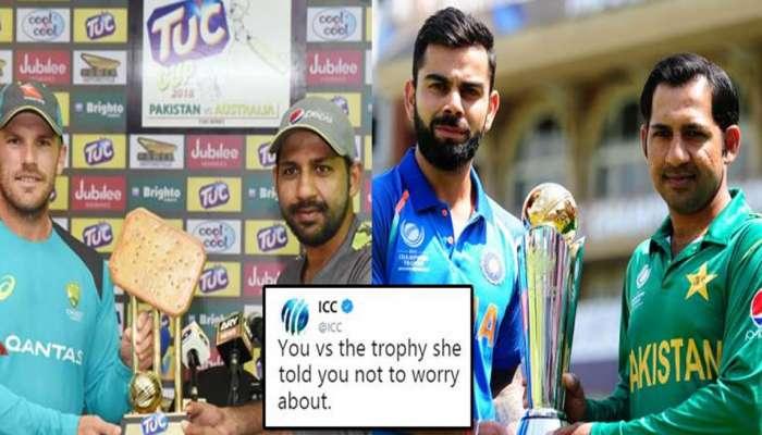 या ट्रॉफीमुळे पाकिस्तान क्रिकेट बोर्ड ट्रोल, आयसीसीचाही निशाणा